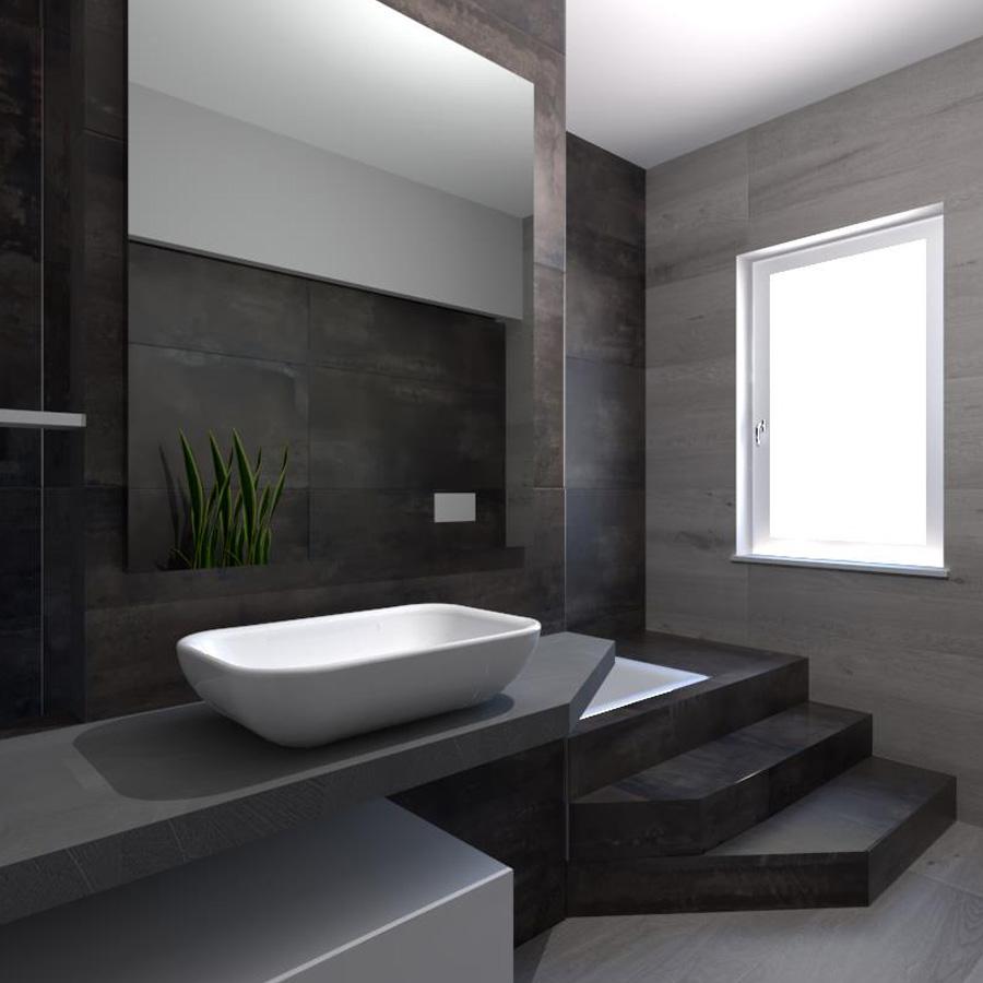 showroom house design aperto