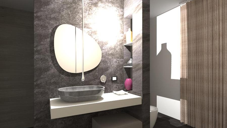 progettazione del bagno